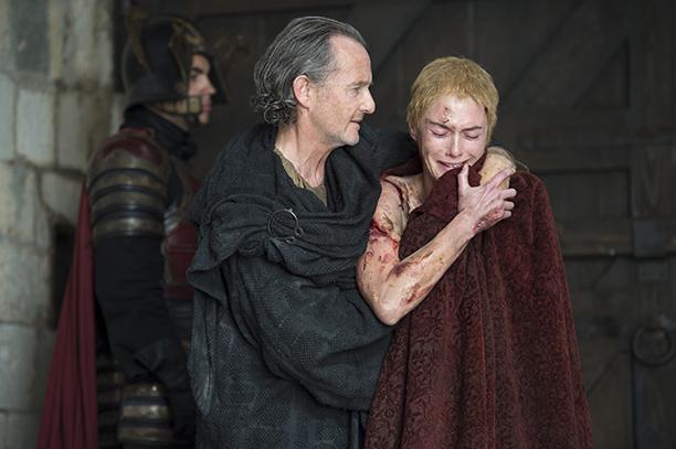 Game of Thrones Mother's Mercy Season 5, Episode 10 June 14, 2015 Anton Lesser, Lena Headey